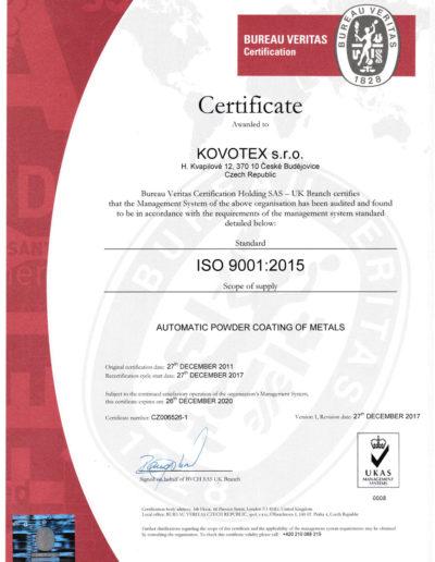 kovotex-certifikat